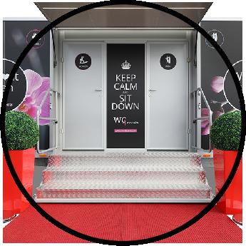 WC4events - Stylische Toilettenwagen bieten Wohlfühlkomfort
